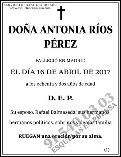 Antonia Ríos Pérez